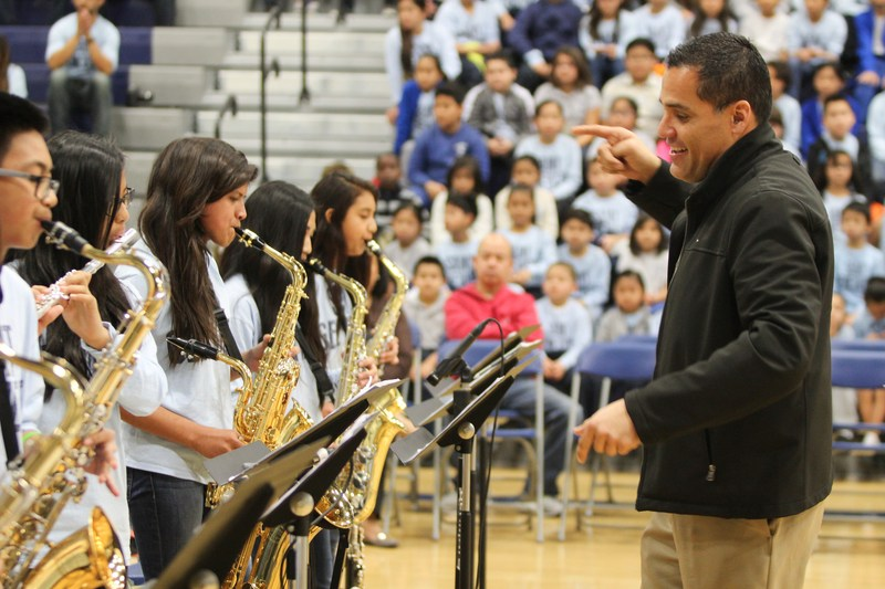 St. Genevieve Band Recieves High Honors in Las Vegas Invitational