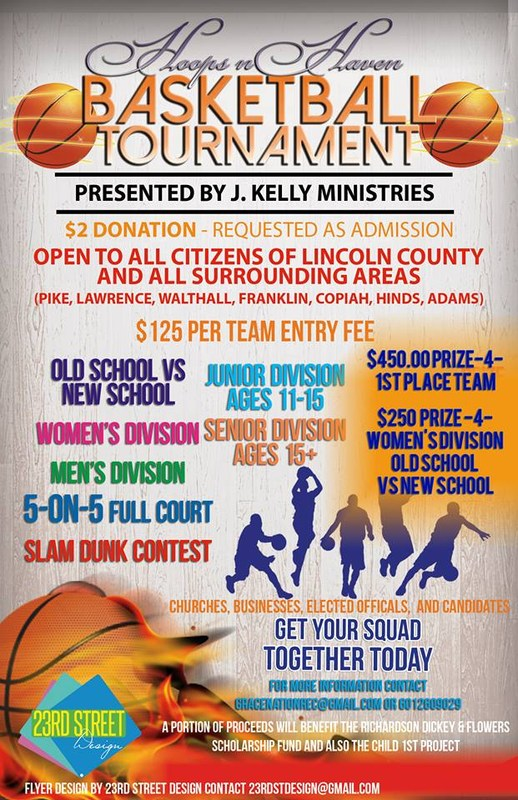 Basketball Tournament @ Lipsey - March 11th - Funds Support Memorial Scholarship Thumbnail Image