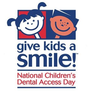 FREE Dental Care On Give Kids a Smile Day