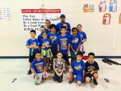North Elementary students ran with top awards at the VVISD Track Meet