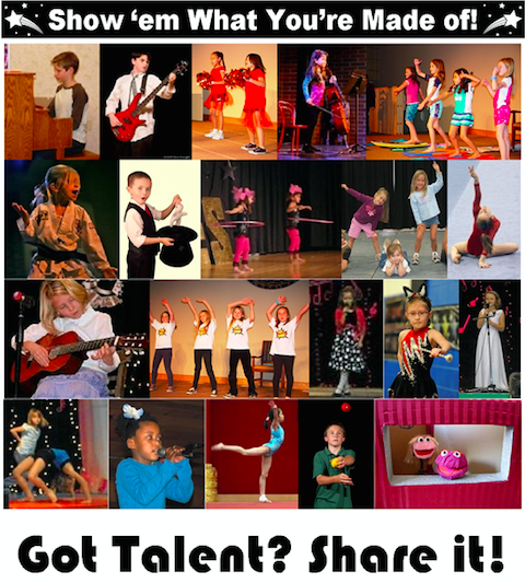 EXTENDED DEADLINE!  Talent Show 2016