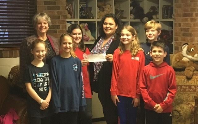 McFadden Honor Society raises $700 for Child Advocacy Center Thumbnail Image