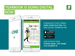 THE YEARBOOK IS GOING DIGITAL, NOW!