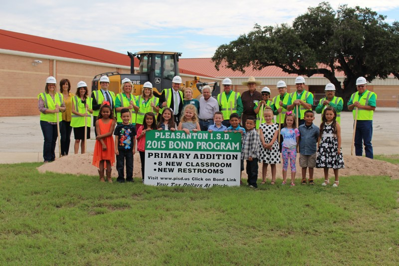 Ground Breaking Ceremony for Primary Addition & Ag Facility