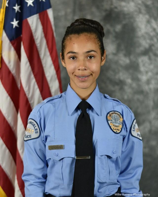 Allysse Menjivar a LAPD Cadet Graduate Thumbnail Image
