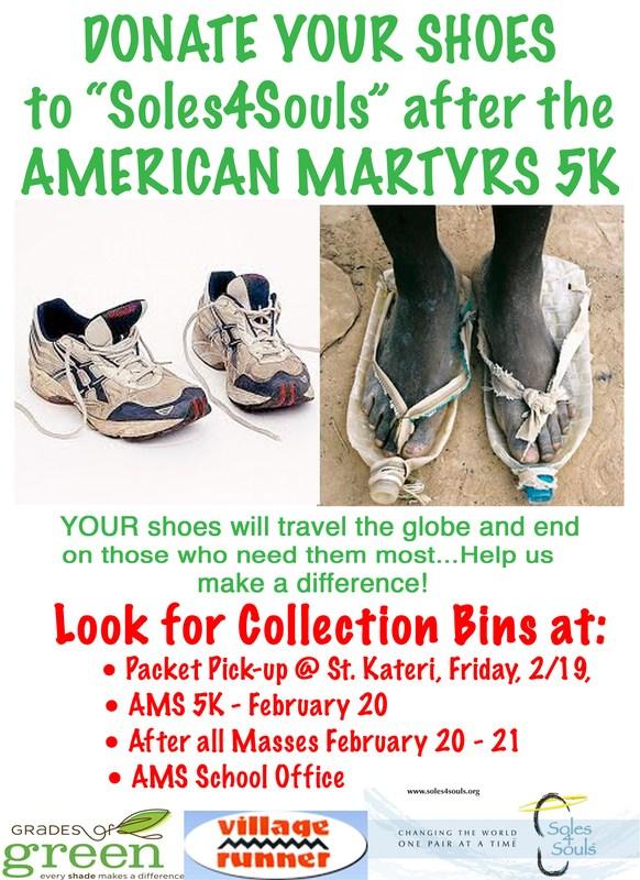 Soles4Souls Shoe Drive - February 19-21