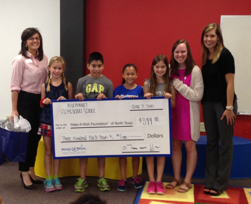 Third Graders Donate Proceeds from Free Enterprise Project