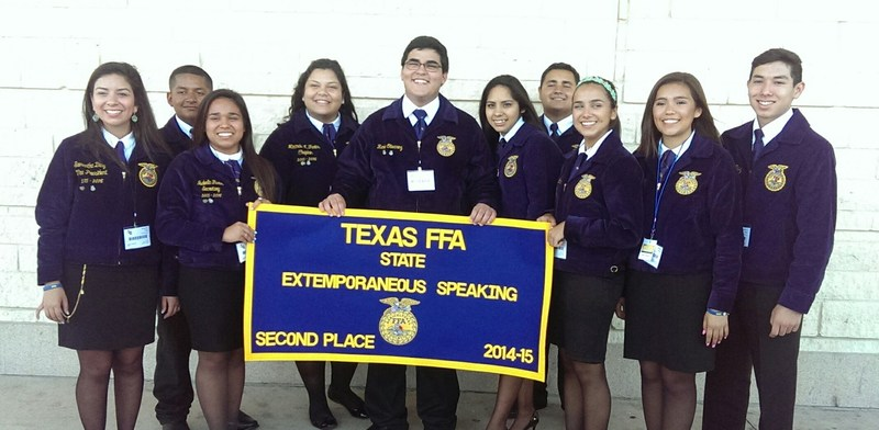 Veterans Memorial FFA Chapter earns multiple honors at state convention