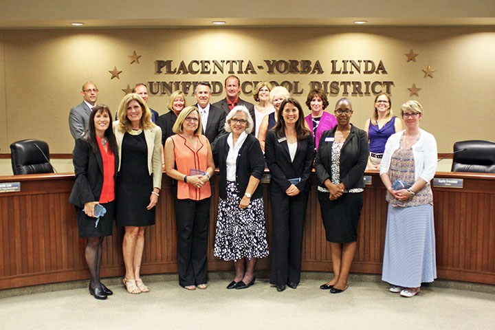 Board honors organizers of ELD camp with award