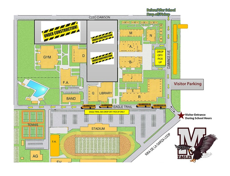 Traffic patterns and access to MHS are changing this school year