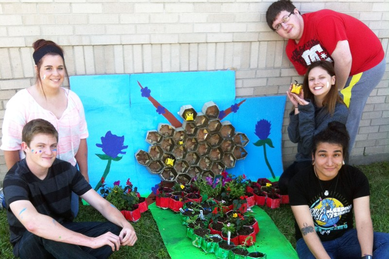 Timber Academy wins regional award for recycling/gardening project