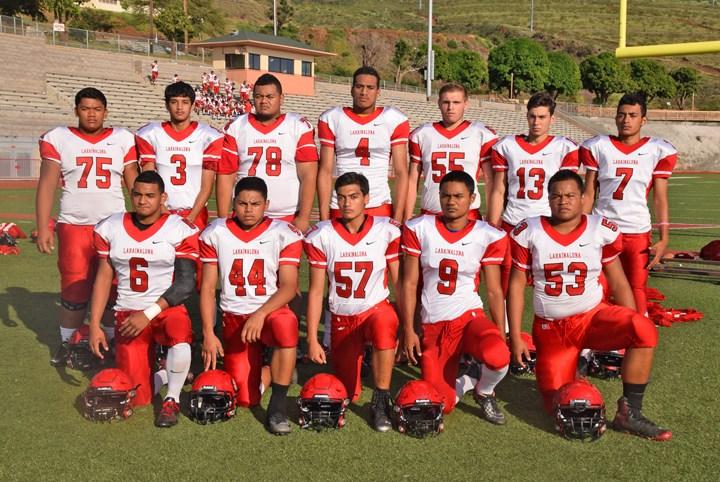 Mahalo to our varsity football team for a great season!
