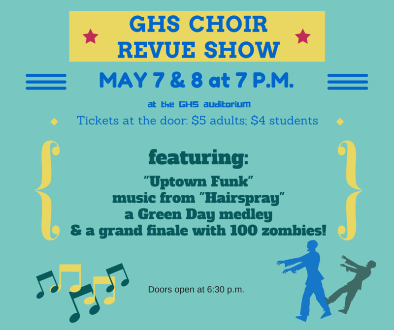 Choir Revue Show 2015
