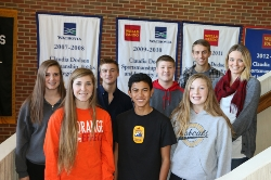 Outstanding Students of 2nd Six Weeks