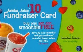 JAMBA JUICE CARDS: Ready for Pick Up.. & To Purchase!