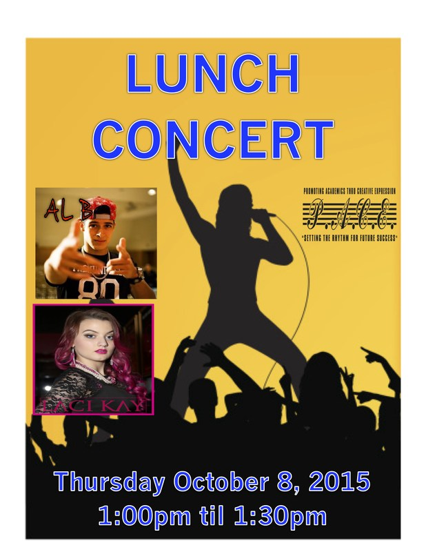 OLGUIN CAMPUS PRESENTS LUNCHTIME CONCERT See Photo album of concert.