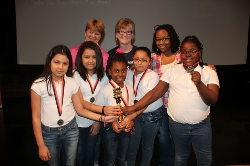 Lancaster High School and Houston Elementary Students Win My History Bowl Event