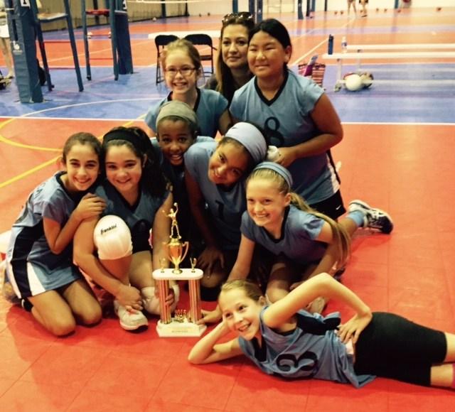 5th Grade Volleyball White Team - Congratulations
