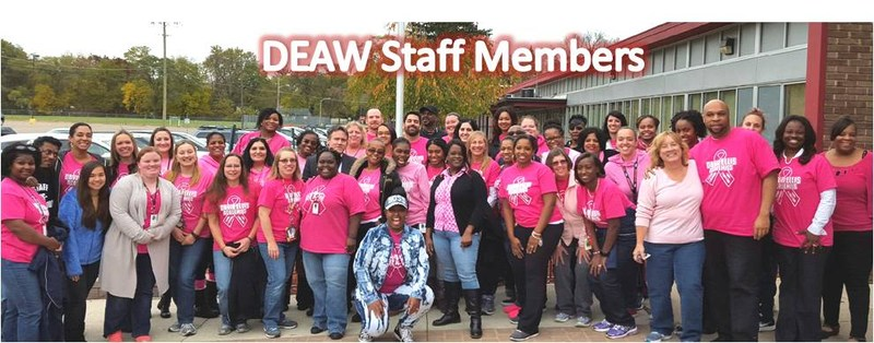 DEAW raises funds for Breast Cancer Awareness Month