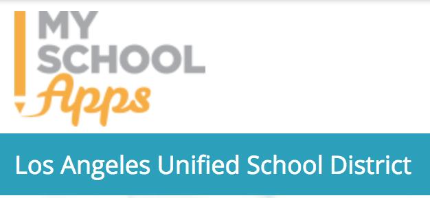 Go to www.myschoolapps.com to apply