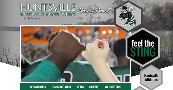 Welcome to the NEW Huntsville ISD Website!