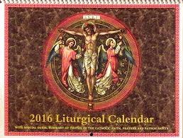 2016 Liturgical Calendar (click here)