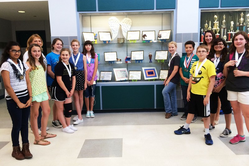 CSISD art students earn awards at Junior VASE