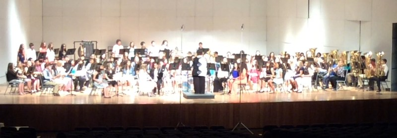 Middle School Band Get First Division at Greater Southwest Music Festival