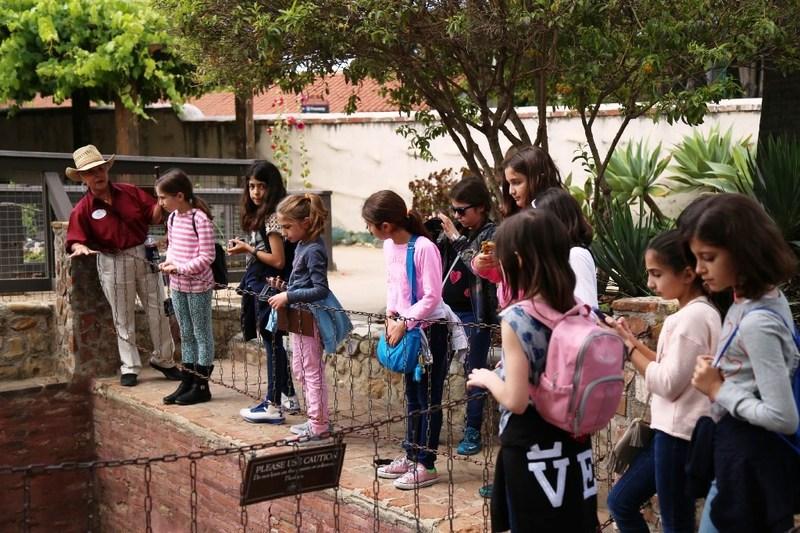 4th Grade Trip to San Juan Capistrano Mission