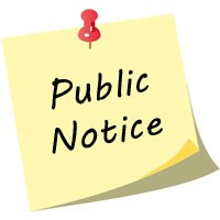 Public Notice and Resolution