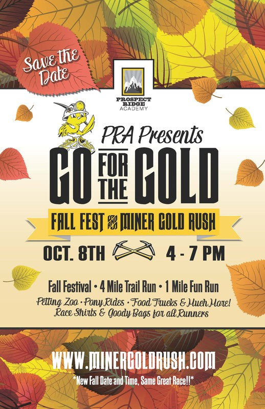 Go for the Gold: Miner Gold Rush & Fall Festival Thumbnail Image