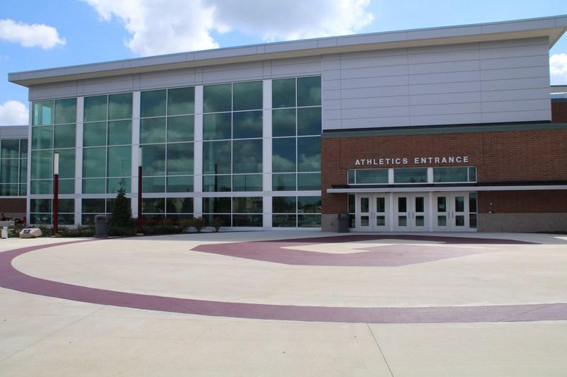 photo of athletic entrance