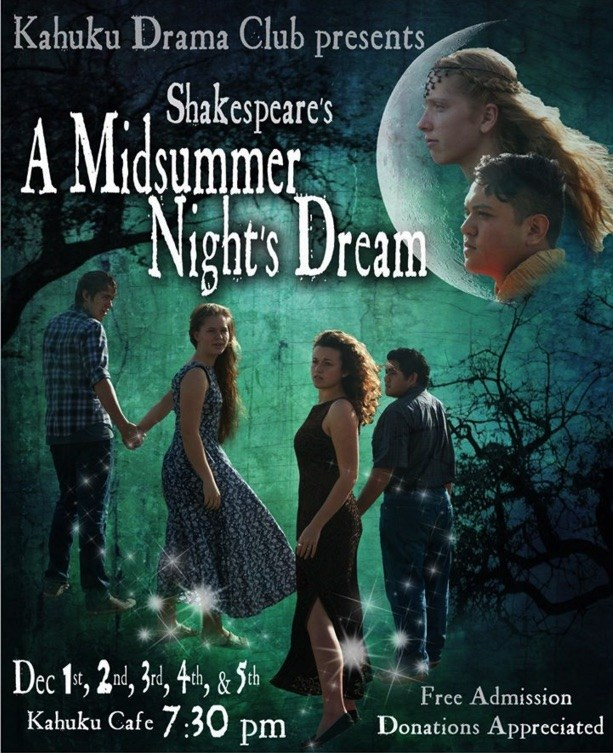Kahuku High and Intermediate's Midsummer's Night Dream Play