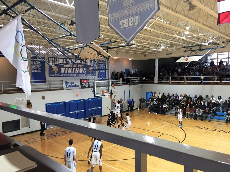 Union Catholic plays valiantly in boys basketball loss to No. 3 ranked Linden Thumbnail Image