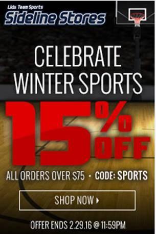 Celebrate Winter Sports - Sidelinestores.com