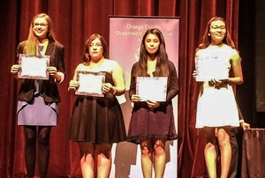 Orange County Department of Education (OCDE) hosted its annual AVID (Advanced Via Individual Determination) Senior Standout Recognition & Scholarship Presentation recipients from the HBUHSD!