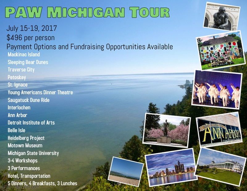PAW Michigan Tour! Thumbnail Image