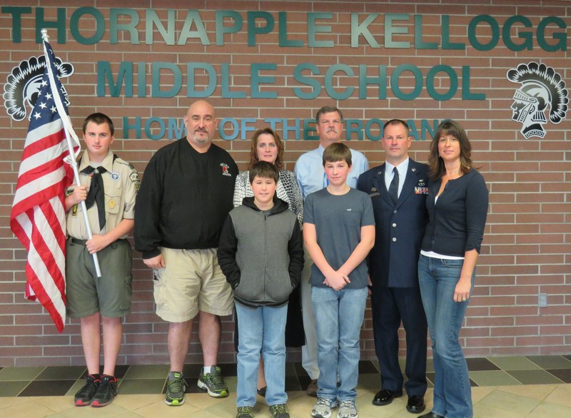 Eighth Graders Build Wall of Respect and Follow Footsteps of Heroes
