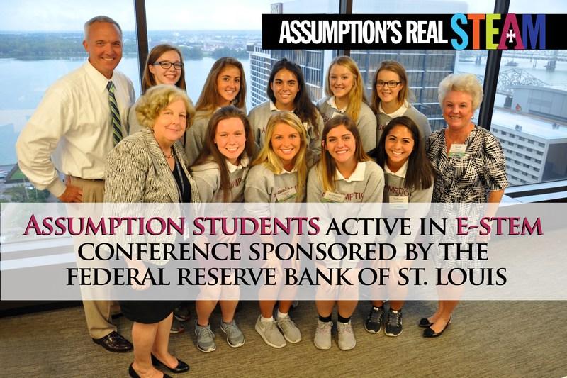 Assumption Students Shine at E-STEM Conference