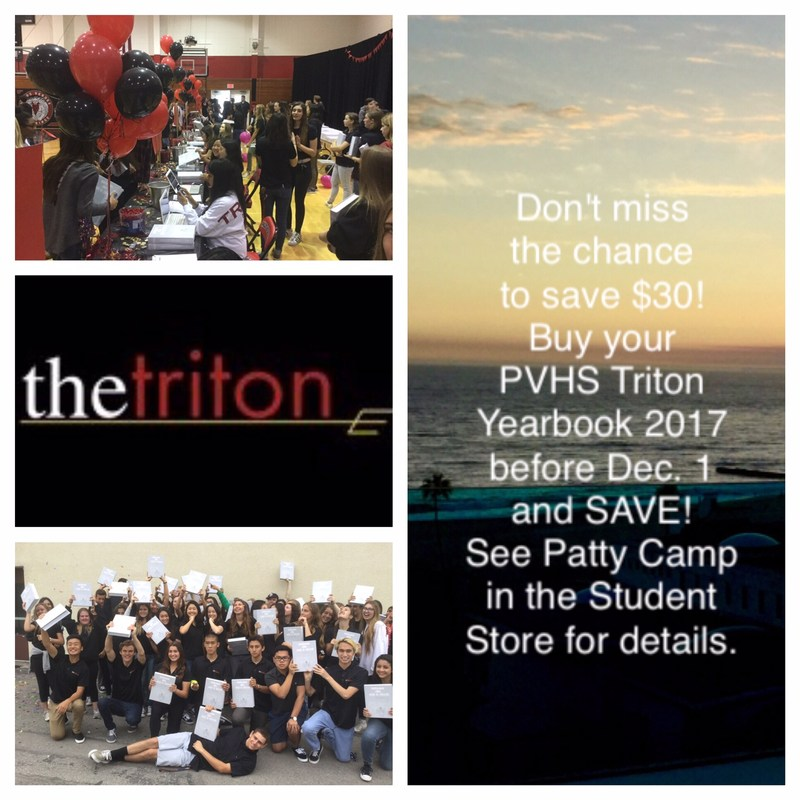 Save $30! - Buy Triton Yearbook Before Dec 1st Thumbnail Image