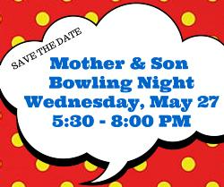 Mother and Son Bowling Night