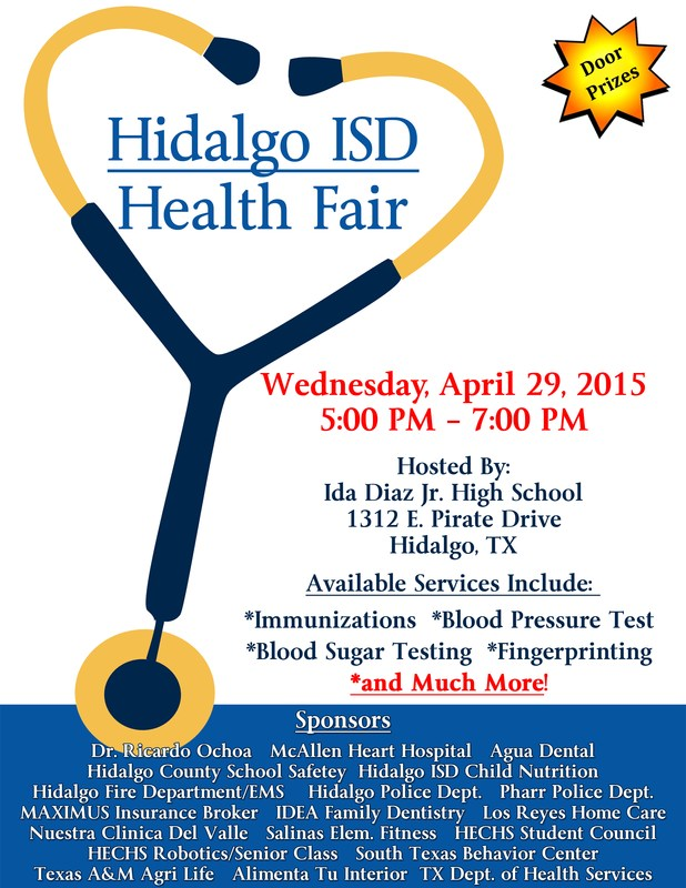 HISD Health Fair *Tomorrow*