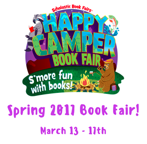 Book Fair Coming in March 13-17 Thumbnail Image