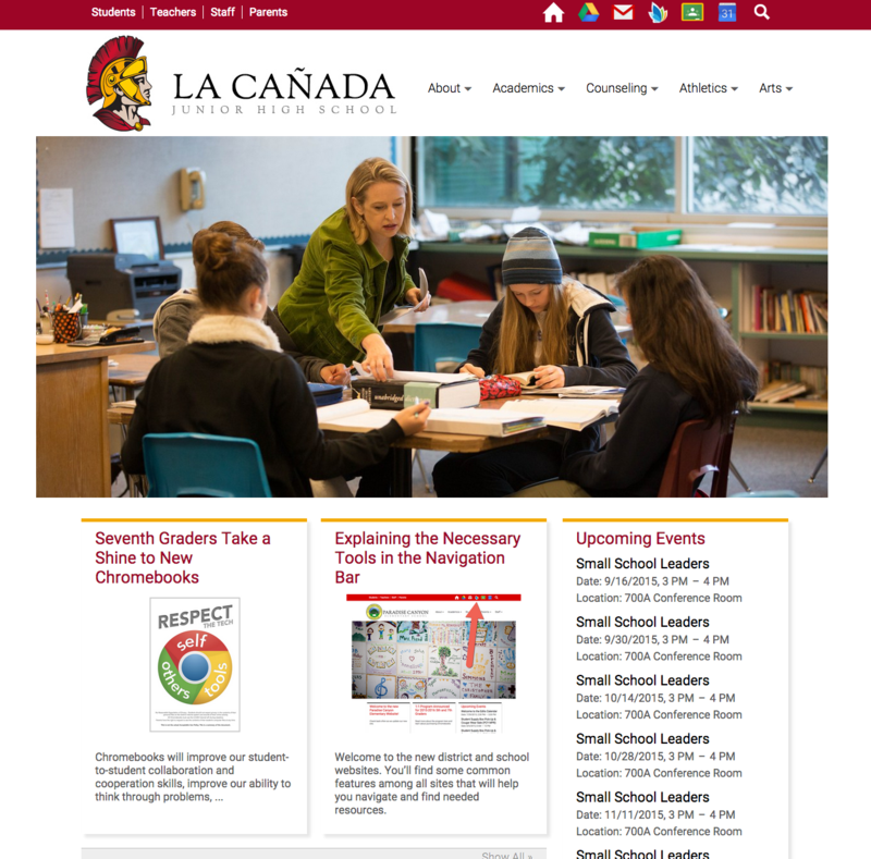 Welcome to the New LCHS 7/8 Website!