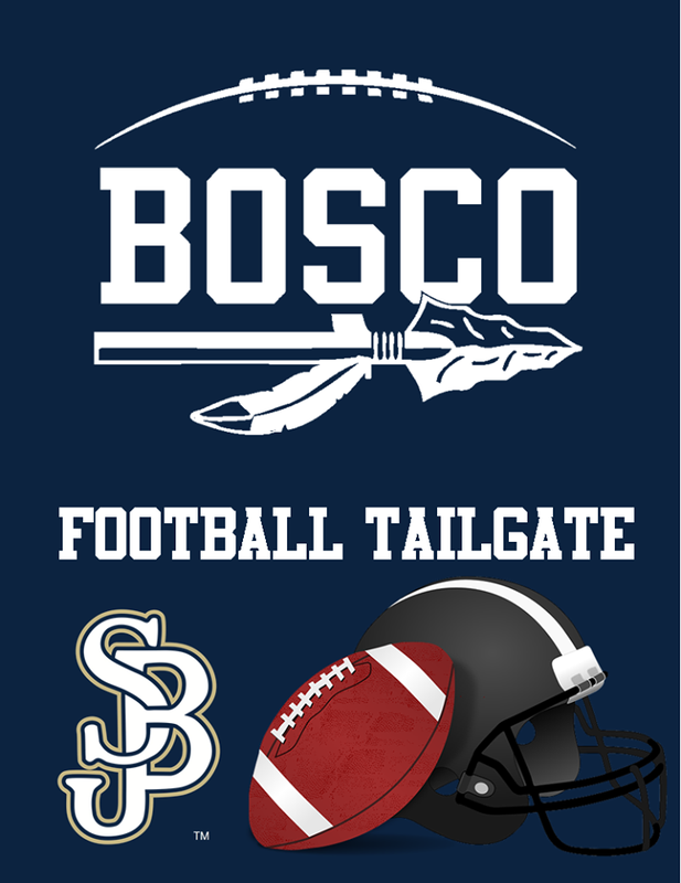 Bosco Football Tailgate Tickets are on sale now!