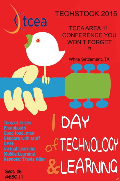 Earn LISD trade day credit! Sign up to attend the TCEA Area 11 Technology Conference