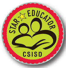 Honor a CSISD teacher, principal or staff meember with an end of year Star Educator Award.