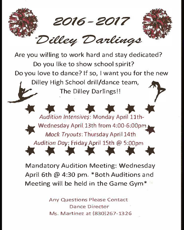 Dilley Darlings Drill / Dance Team!