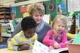 preschool class reading