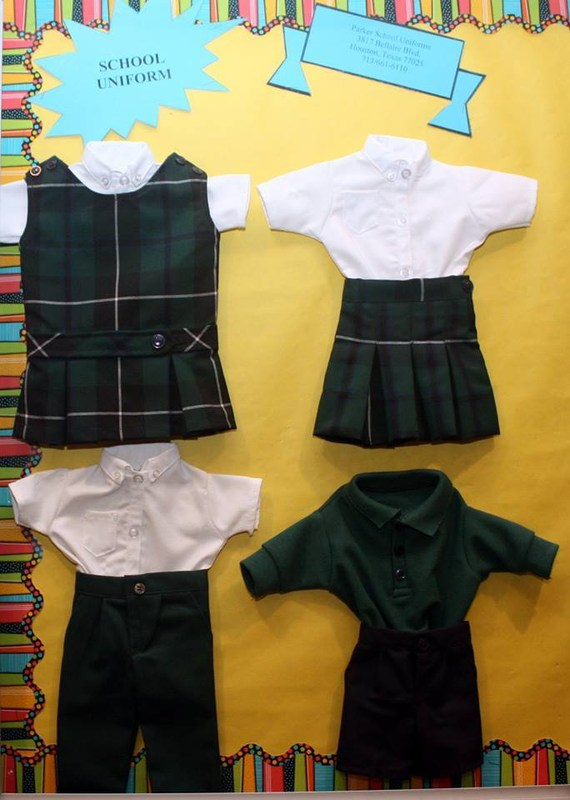 Buy school uniforms at a discount!